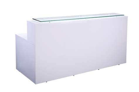 White Reception Desks White High Gloss Reception Counter Office Furniture Solutions 4u