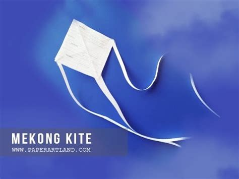 How To Make Simple Kite From Paper - diy paper kite how to make a simple kite in 10 minutes