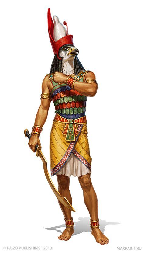 along with the gods golden village horus by katemaxpaint on deviantart