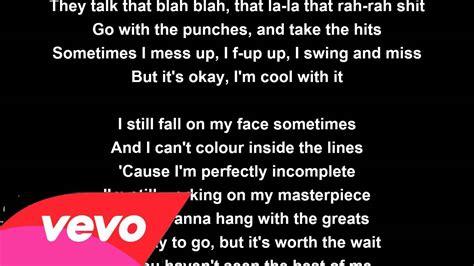 jessie j lyrics masterpiece jessie j lyrics youtube