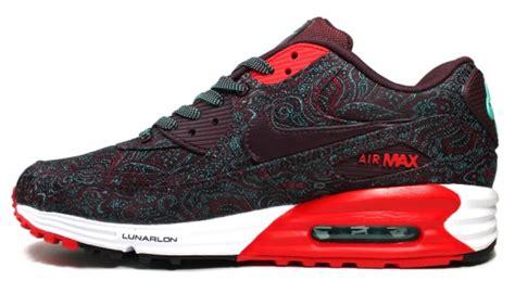 Airmax 90 Paisley nike air max lunar90 quot paisley quot sneakersbr