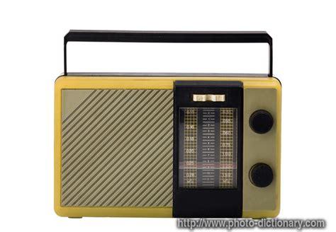 transistor radio transistor radio photo picture definition at photo dictionary transistor radio word and