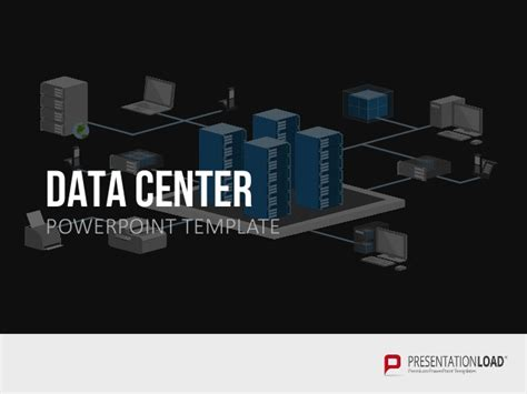 Data Center Ppt Template Data Powerpoint Template