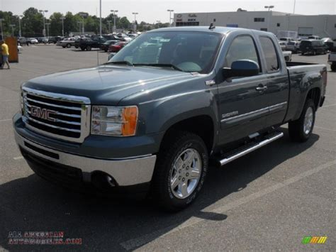 2011 gmc 1500 sle extended cab in stealth gray metallic photo 18 332679 all american