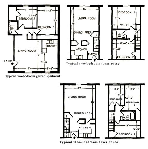 District House Floor Plans - garden district house plans house design plans
