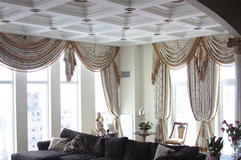 custom drapes chicago chicago penthouse custom and luxury drapery traditional