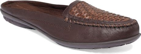 Hush Puppies Kulit Brown Black hush puppies 174 ceil mules in brown brown lyst