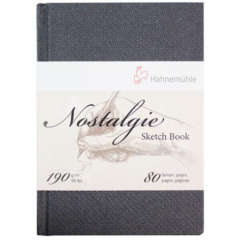 sketch book a5 bloc de dibujo nostalgie sketch book hahnem 252 hle a5