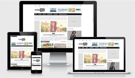 blogger templates for advertising sora ads responsive blogger template freecodeaz share