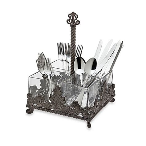 bed bath beyond silverware silverware caddies home christmas decoration