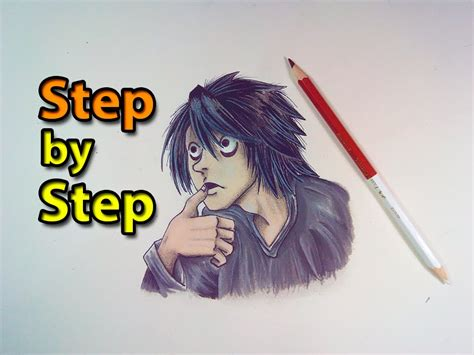 L Drawing Image by How To Draw L From Note Easy Step By Step