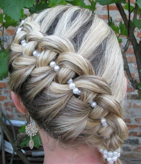 Pearl French Braids | pearl french braids how to dress up your braids glam radar