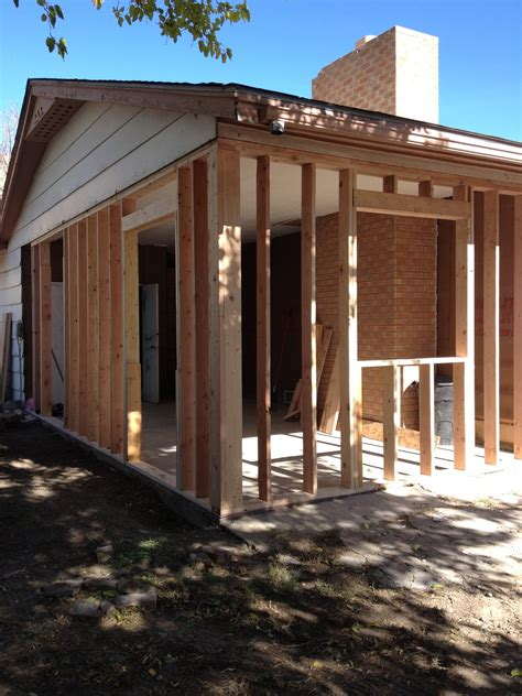 Closing In A Carport The Handwork Chronicles Framing
