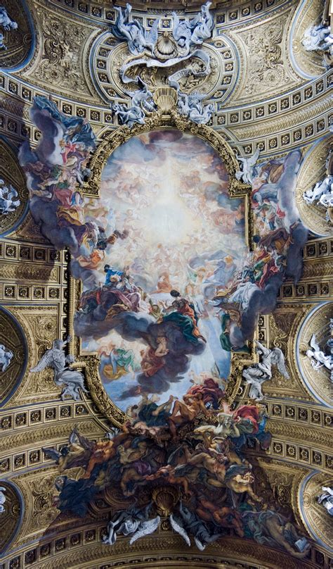 Ceil And by Et Italie Rome 1660 L Explosion Baroque Exposition