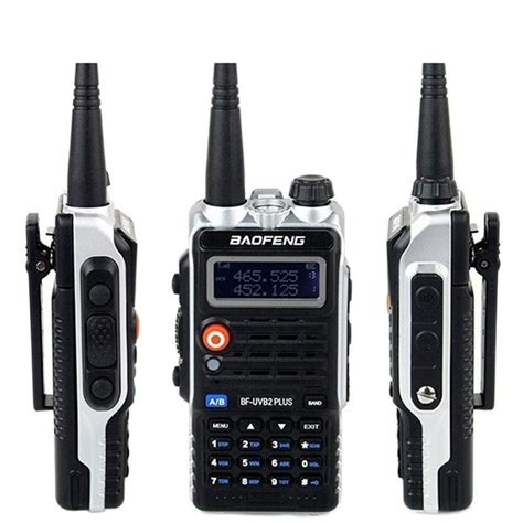 Baofeng Walkie Talkie Dual Band Two Way Radio 5w 128ch Fm A52 baofeng walkie talkie bf uvb2plus vhf uhf dual band ctcss two way radio 769700000177 ebay