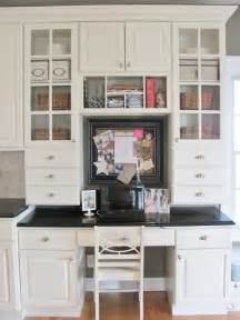 Kitchen Cabinets Desk Workspace Built In Desk With Vintage Chair Ikea Storage Set Up Right In The Dining Room This Will