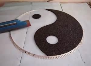 Design Garage steinteppich muster schablone01 steinteppich verlegen at