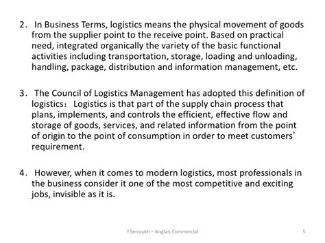 Sle Introduction Letter Logistics Company Introduction 2 Logistics