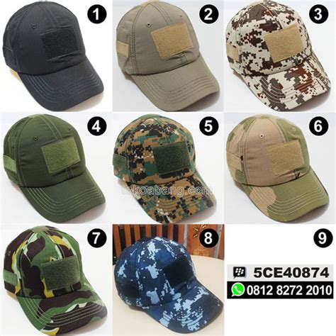 Topi Tactical Blackhawk topi army tactical toko abang tactical