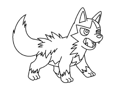 Poochyena Coloring Pages Pictures Into Coloring Pages
