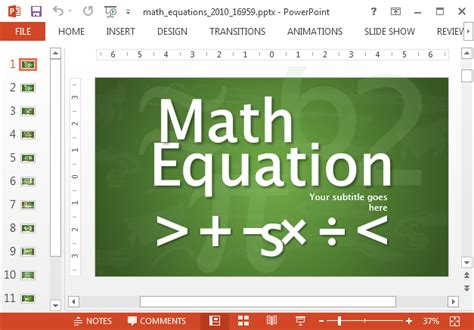 math templates for powerpoint animated math equations for powerpoint presentations