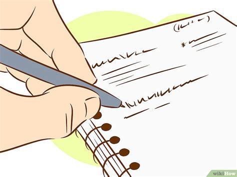 4 formas de escribir un libro wikihow