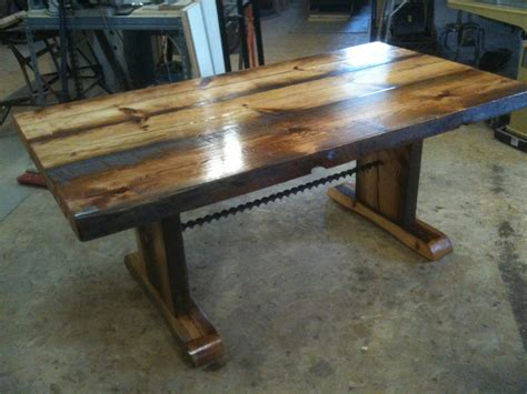 reclaimed wood dining table and bench reclaimed barnwood dining table with bench