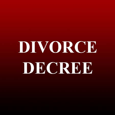 Is A Divorce Decree A Record Divorce Decree Records Nv