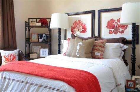 coral color bedroom decorating with coral ideas inspiration