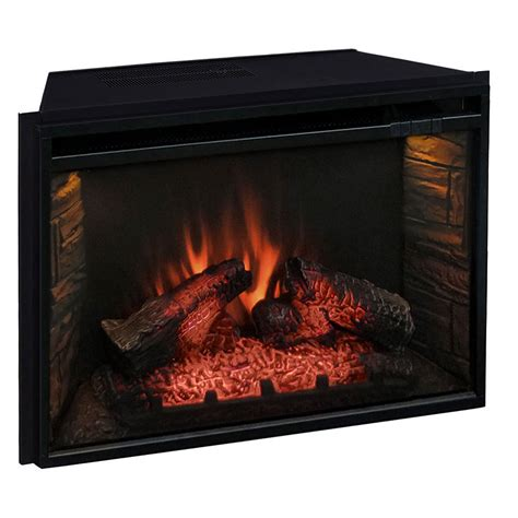 comfort smart electric fireplace comfort smart 26 in infrared mesh screen electric