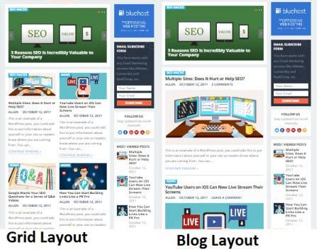 grid layout for blogger revenue theme review happythemes reality