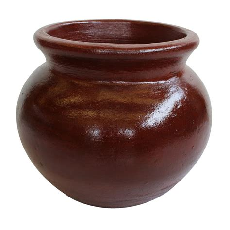 Clay Pot 21 in dia smooth handle terra cotta clay pot rct 310 t