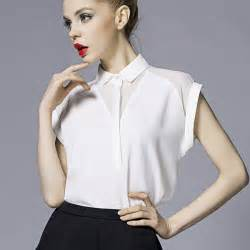 Short sleeve white blouse feathers shirt women tops and blouses 2015