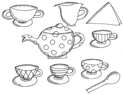 tea coloring pages tea coloring pages to and print for free