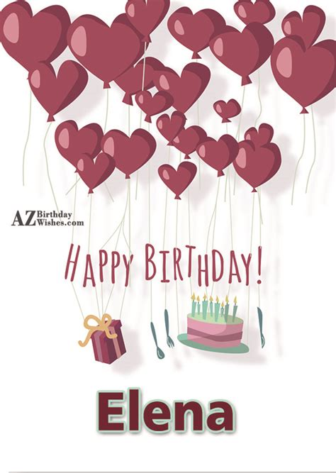 imagenes de happy birthday elena happy birthday elena