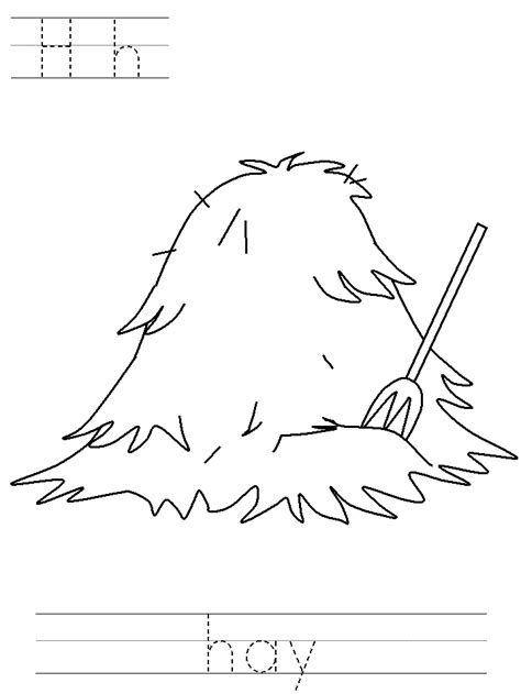 free coloring pages of bale