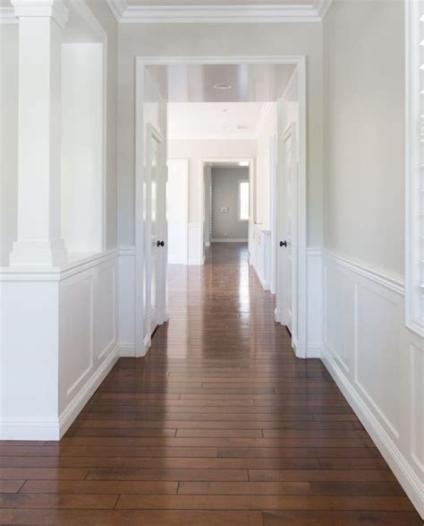 Wall color is Benjamin Moore Pale Oak. A very versatile