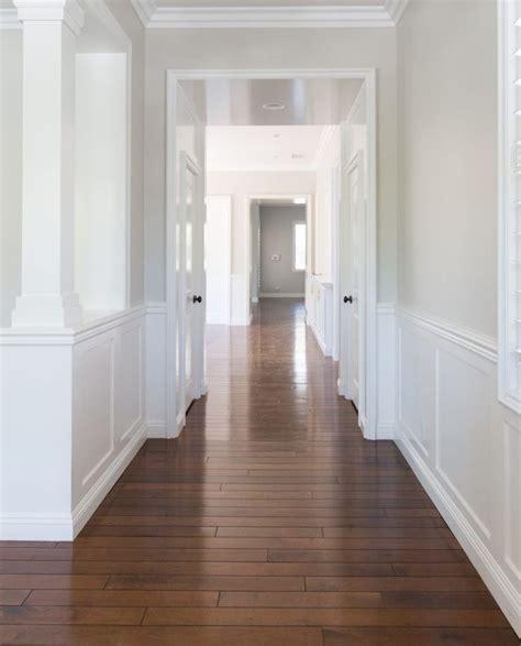 Wall color is Benjamin Moore Pale Oak. A very versatile
