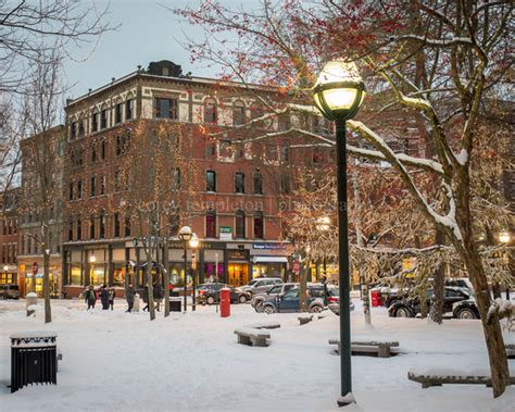 Winter Park Post Office by Corey Templeton Photography Portland Maine Winter