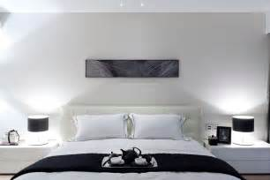 modern white bedroom synergistic modern spaces by steve leung