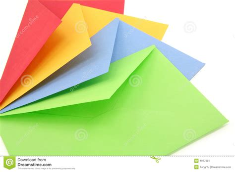 colorful envelopes inspiring colorful envelopes 3 colorful envelopes stock