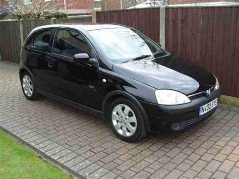 Vauxhall 2002 Corsa 1 2 Sxi 16v Black Car For Sale