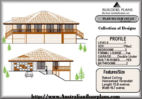 building a house on a slope 134lh pole real estate house plan build slope land ebay