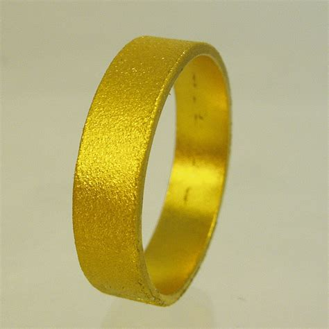 24 Karat Gold by Solid Gold Wedding Band 24 Karat Solid Gold Ring100