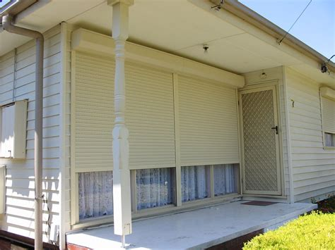 why would you install the security shutters in your home