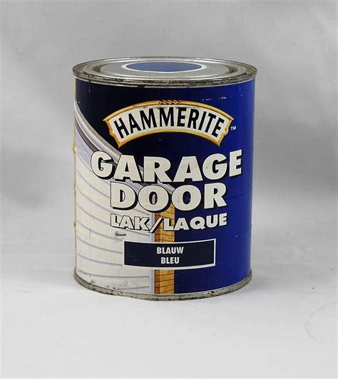 peinture laque pour porte de garage hammerite 750 ml