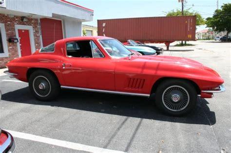 automobile air conditioning repair 1967 chevrolet corvette user handbook 1967 corvette 327 300 number match factory a c real bolt on wheels tank sticker