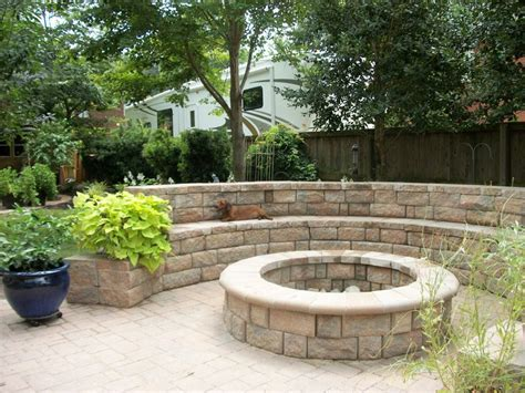 pit retaining wall pit with retaining wall seating outdoor living