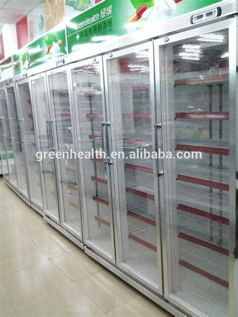 Glass Showcase For Sale Commercial Beverage Cooler 5 Door Glass Door Coolers For Sale