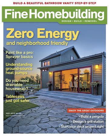issue 190 fine homebuilding issue 252 june july 2015 fine homebuilding